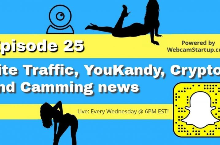 Podcast 25: Site Traffic, YouKandy Debacle and Camming News