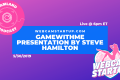Podcast 72: GameWithMe Presentation with Steve Hamilton