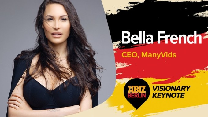 ManyVids CEO Bella French to Keynote XBIZ Berlin