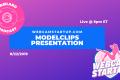 Podcast 84: ModelClips Presentation / Q&A