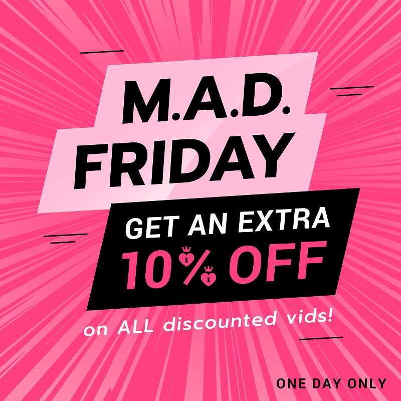 ManyVids M.A.D. Friday Sale