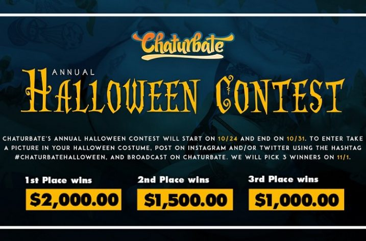 Chaturbate Halloween Contest: October 24 – 31, 2019
