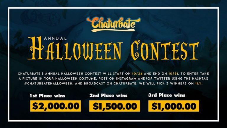 Chaturbate Halloween Contest