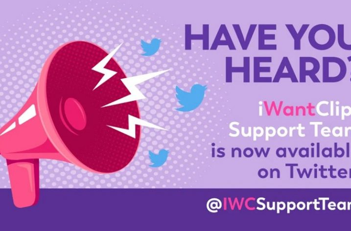 iWantClips Support Now On Twitter