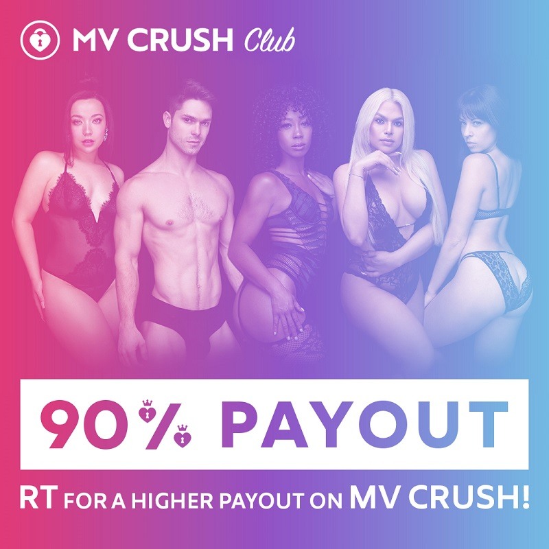 ManyVids 90% MV Crush Promo