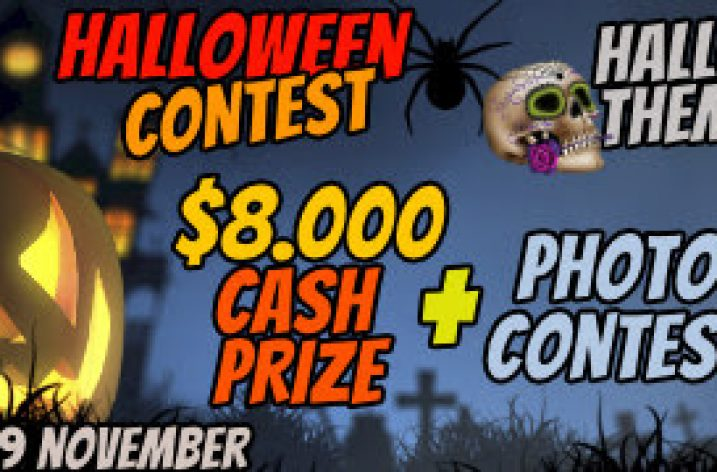 SoulCams Halloween Contest: Oct 16 – Nov 9, 2019