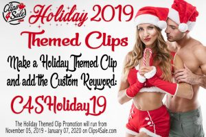 Clips4Sale Holiday 2019
