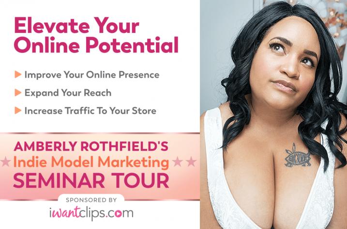 IWantClips sponsors Amberly Rothfield seminar tour