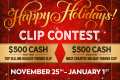 IWantClips launches 2019 holiday contest