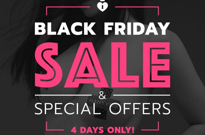 Manyvids Black Friday/Cyber Monday sales