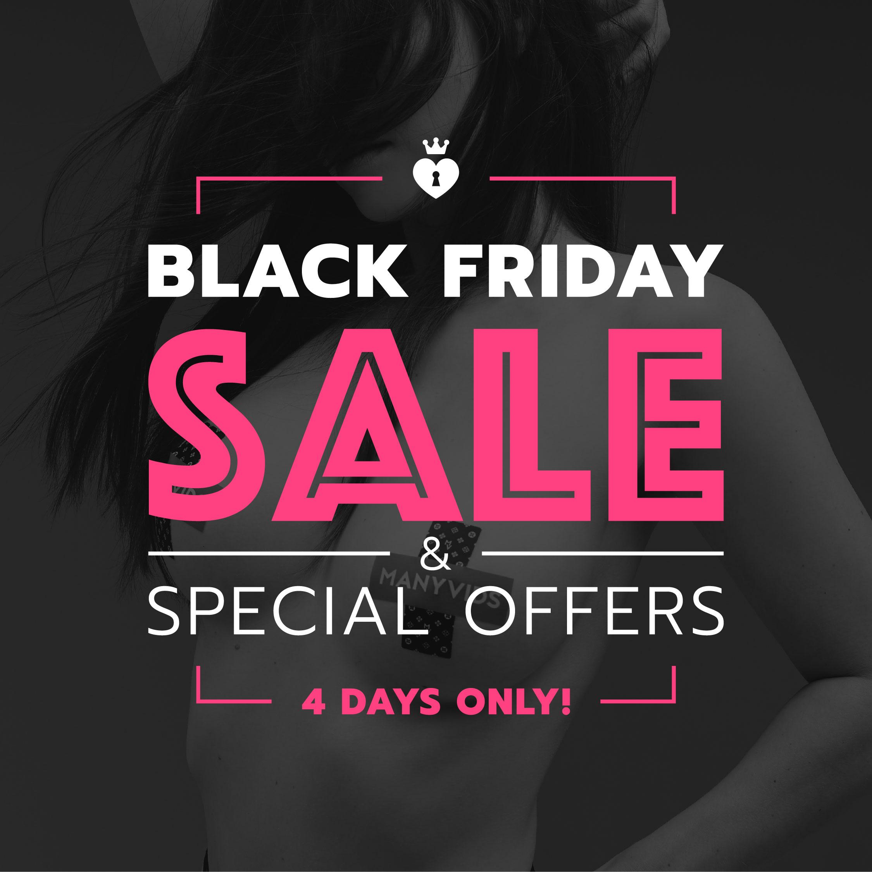 Manyvids Black Friday sale