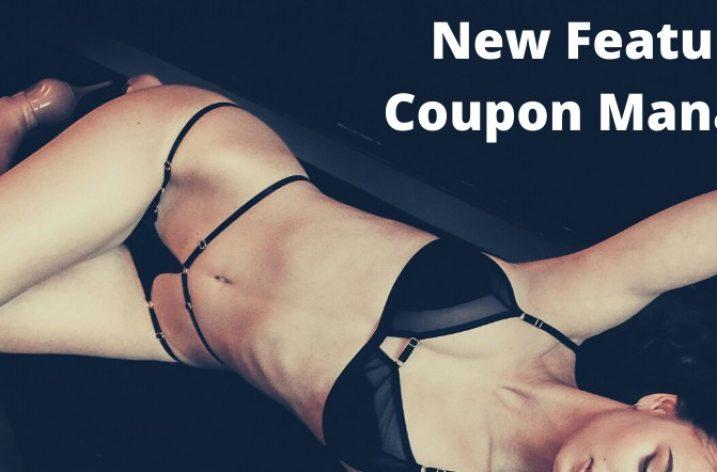 Modelhub adds coupons
