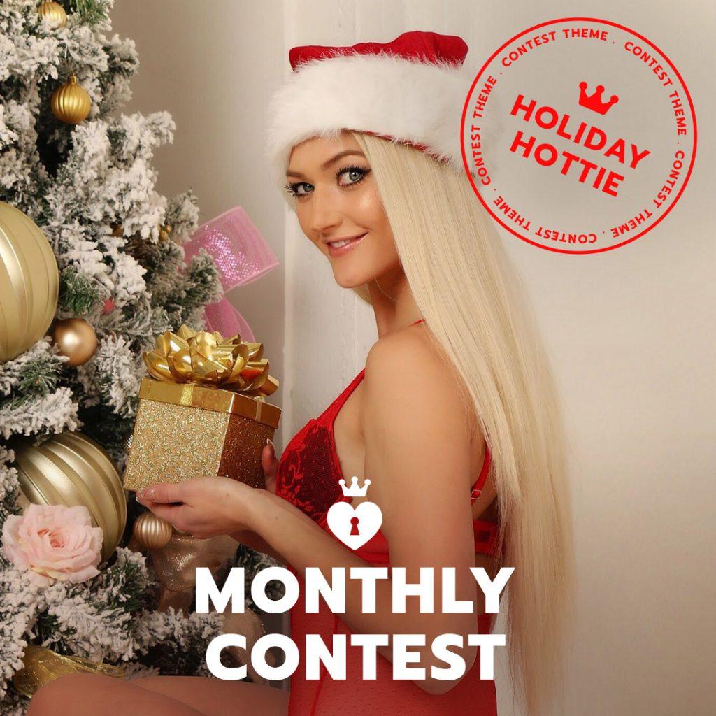 Manyvids Holiday Hottie Contest