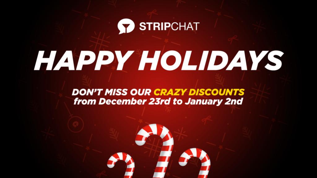 Stripchat Holiday Token Bonus