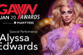 Alyssa Edwards Performing at 2020 GayVN Awards