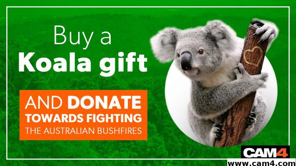Cam4 Australia Fundraiser