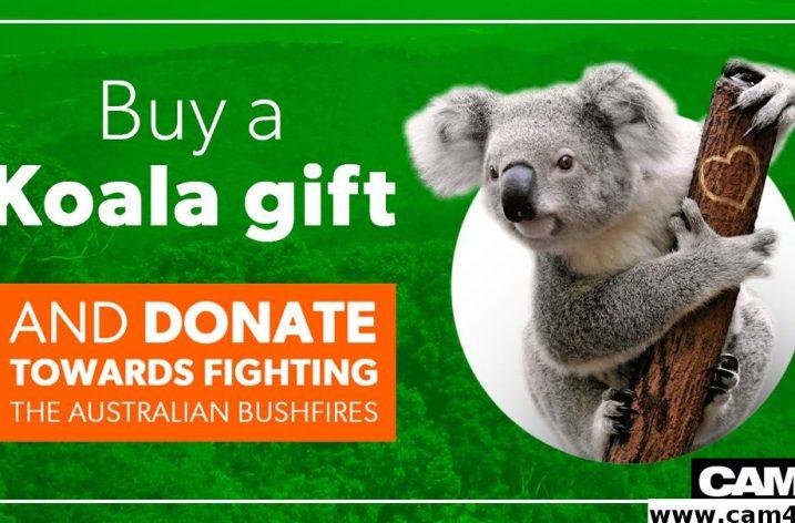 Cam4 Fundraiser for Australian Wildfires