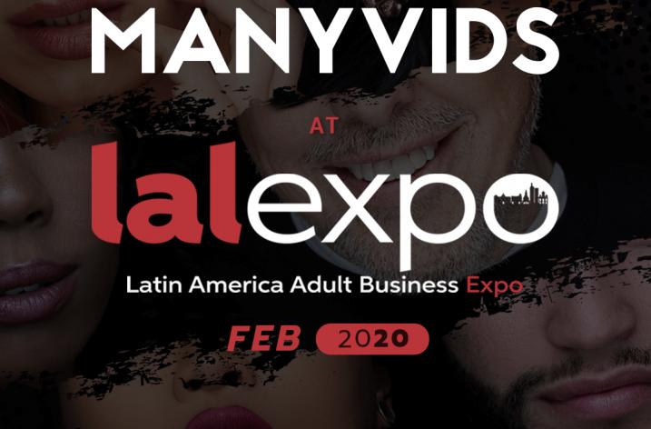 Manyvids Sponsors LALEXPO 2020