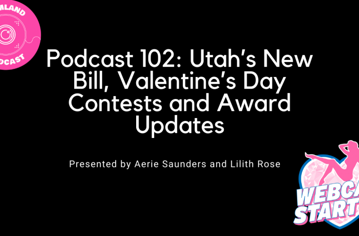 Podcast 102: Utah's New Bill, Valentine's Day Contests and Award Updates