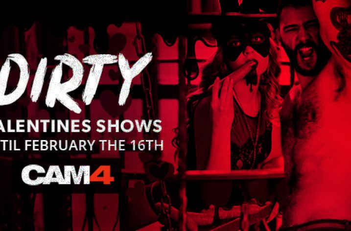 Cam4 Announces Valentine's Day Themed Contest (Feb 10th-Feb 16th 2020)