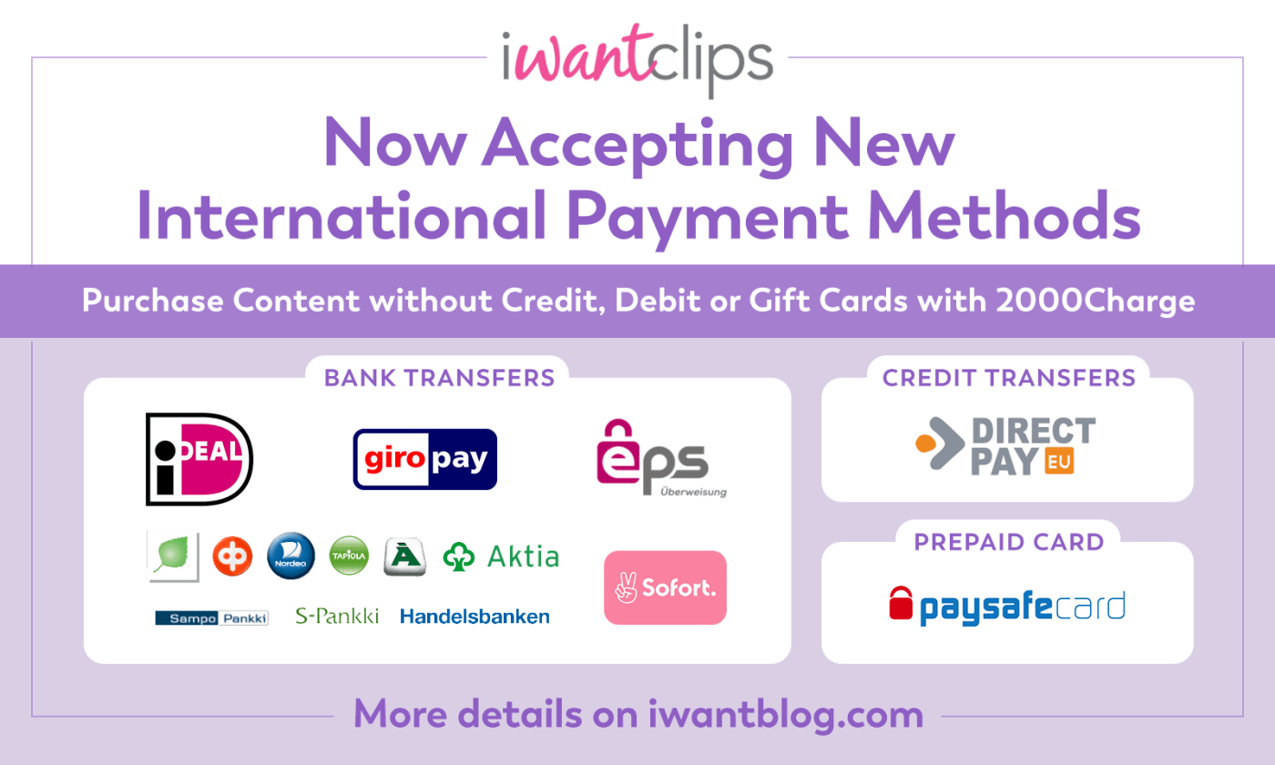 iwantclips-new-payment-methods