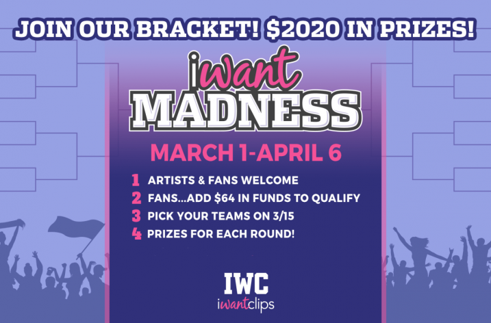 iWantClips Announces iWantMadness