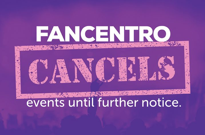 FanCentro Is Cancelling Events Until Further Notice