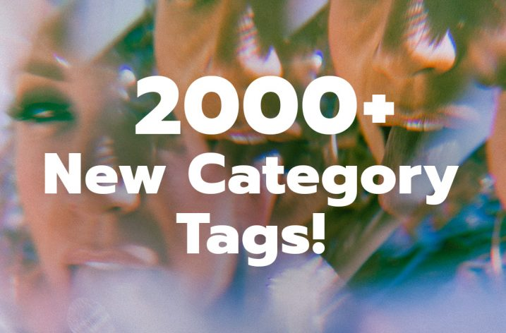 ManyVids Adds 2000 New Categories for Videos and Photos!