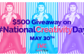 iWantClips $500 Giveaway For #NationalCreativityDay