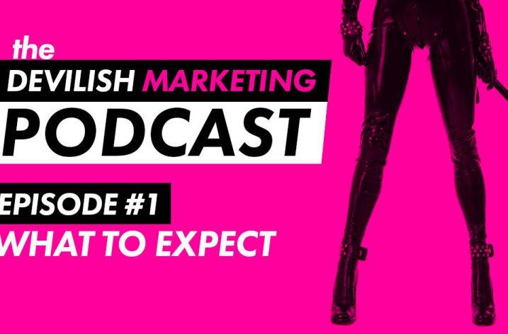 Amberly Rothfield launches The Devilish Marketing Podcast