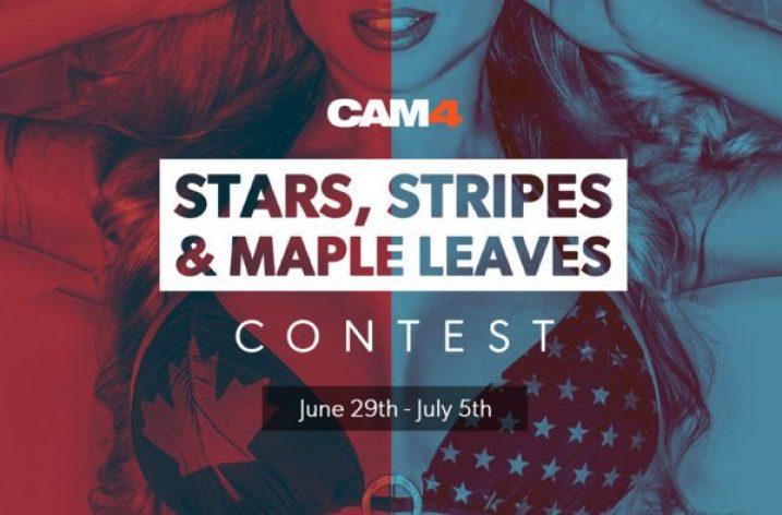 Cam4 Stars, Stripes & Maple Leaves Contest (June 29–July 5, 2020)