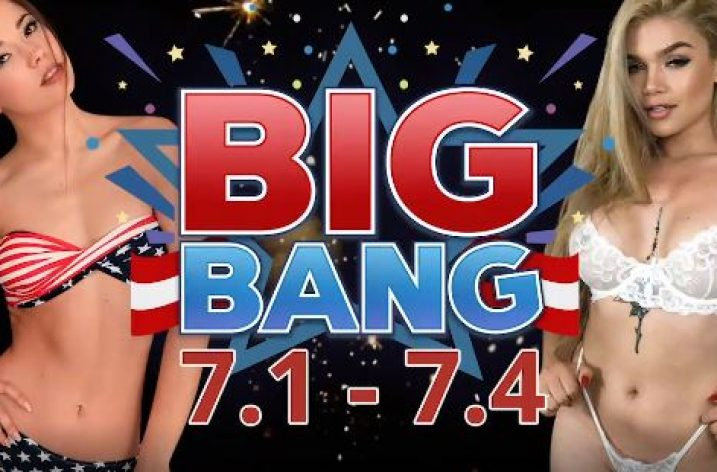 "Flirt4Free ""Big Bang"" 4th of July Contest"