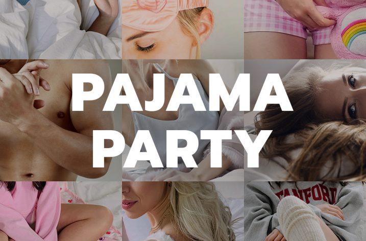 "Manyvids ""Pajama Party"" Winning Wednesday contest (June 17, 2020)"