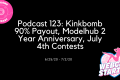 Podcast 123: Kinkbomb 90% Payout, Modelhub 2 Year Anniversary, July 4th Contests