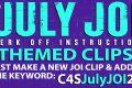 """Clips4Sale """"July JOI"""" Clip Promotion (July 2020)"""